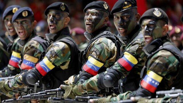 مادورو شبه نظامیان دولتی را به خیابان های ونزوئلا آورد
