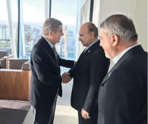 امیری: نامه جدیدی نیست ، گفتیم به منشور المپیک وفاداریم
