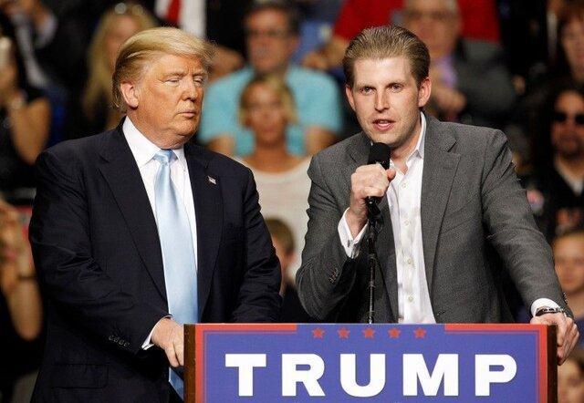 تمجید پسر ترامپ از عملکرد مالی پدرش!