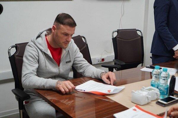 حضور استوکس در باشگاه پرسپولیس نهایی شدن قرارداد