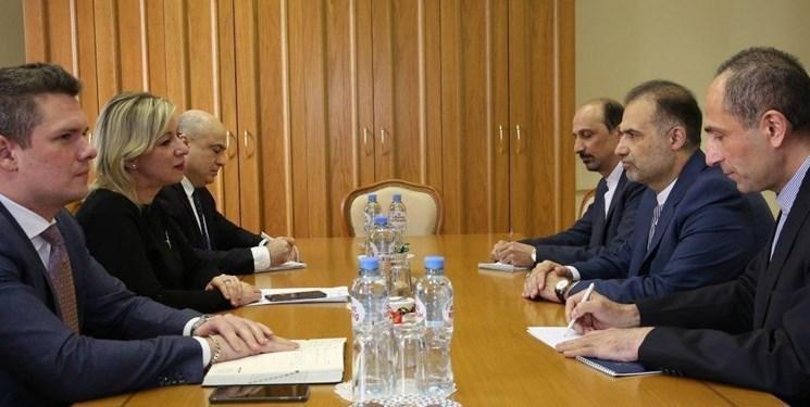 ملاقات سفیر ایران با سخنگوی وزارت خارجه روسیه