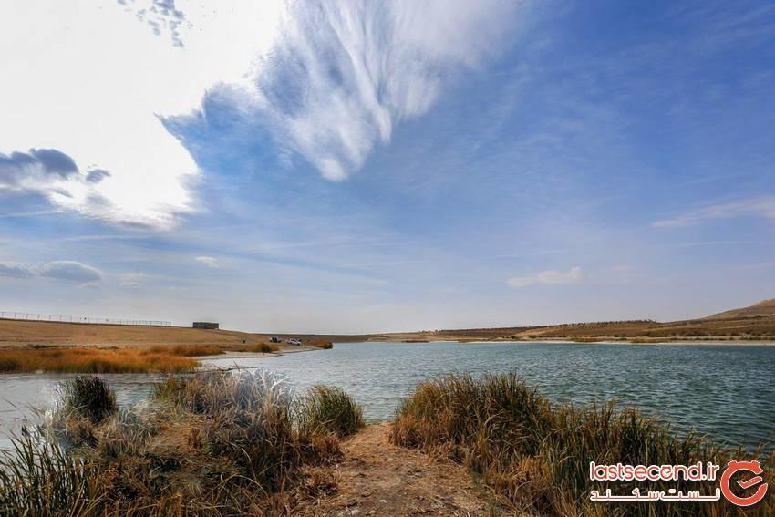 زیباترین دریاچه ایران که نام عجیبی دارد!