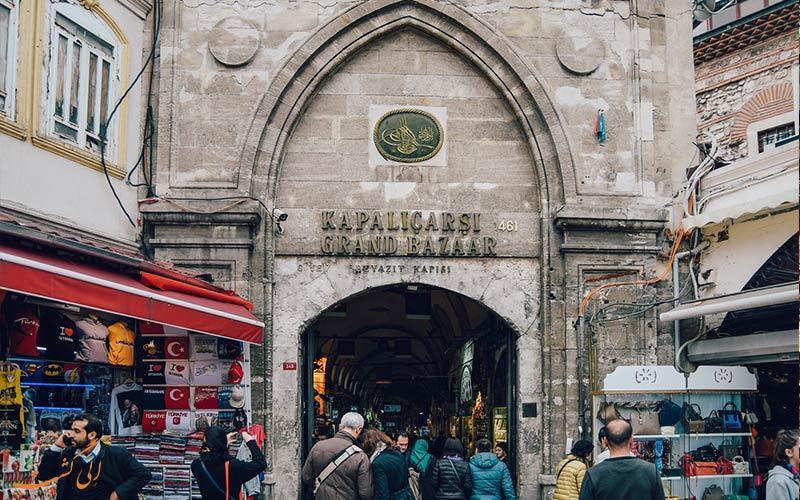 عظیم ترین بازار ترکیه، بازار کاپالی چارشی