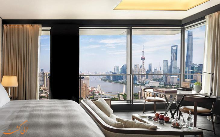 بهترین هتل های پنج ستاره در شانگهای چین