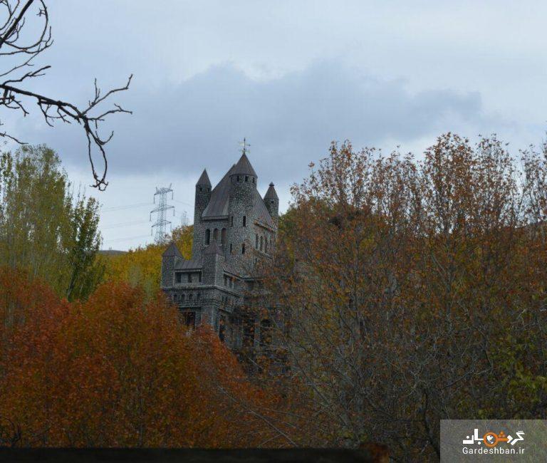 قلعه اسرار آمیز برغان در روستای آغشت ، عکس