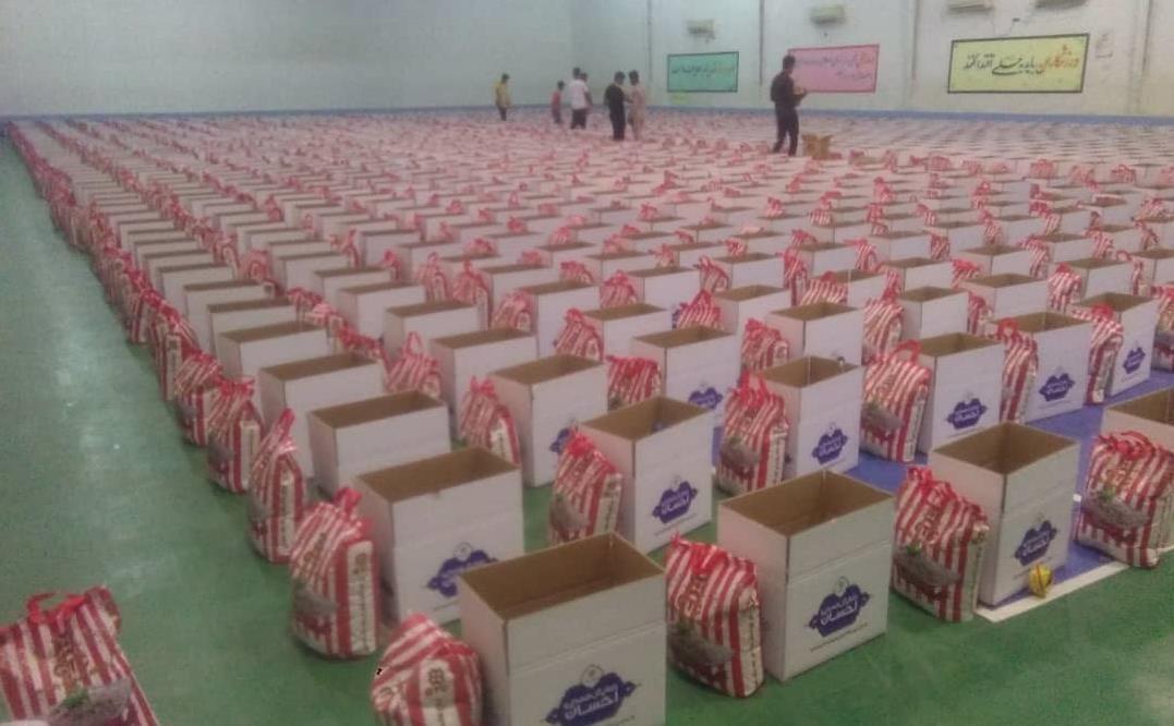 اهدای بسته های معیشتی برکت به همه هرمزنشینان