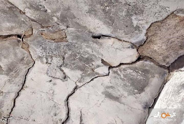خسارت زلزله به بافت تاریخی دهدشت