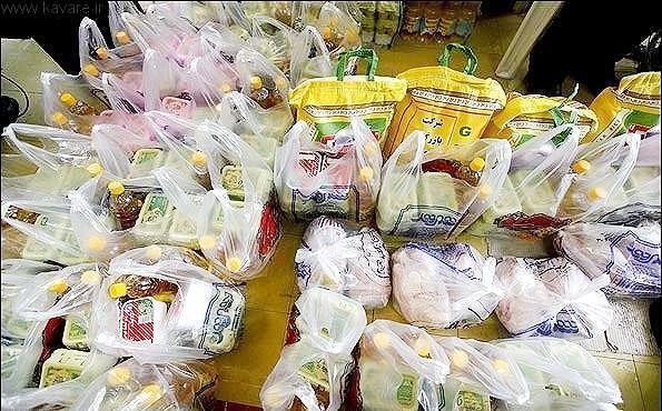 اهدای بسته های حمایتی به خانواده های توان یاب جنوب تهران