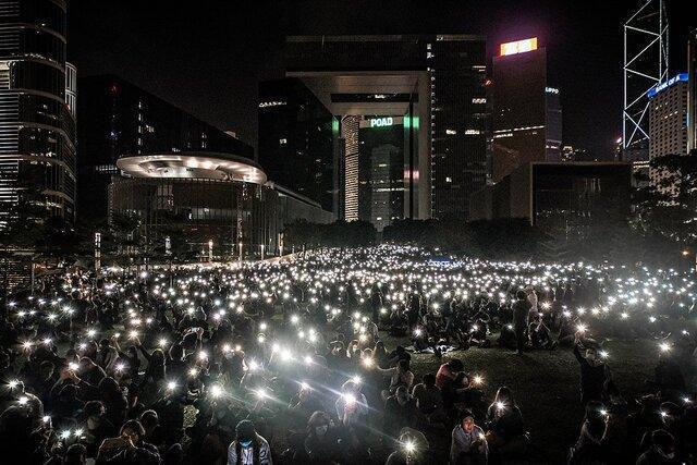 چین معترضان هنگ کنگی را ویروس سیاسی خواند
