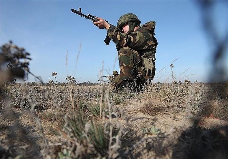 مانور نظامی ارتش بلاروس در مرز جمهوری لیتوانی