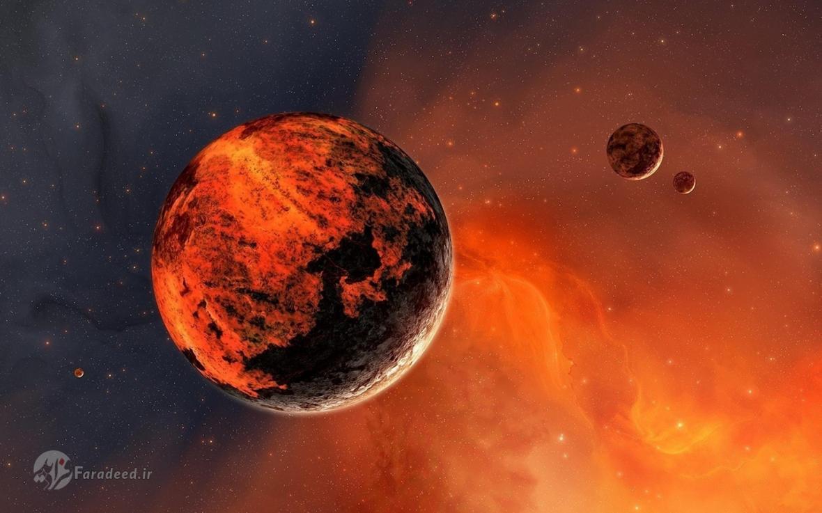 کشف برکه های نمکی زیر سطح سیاره مریخ