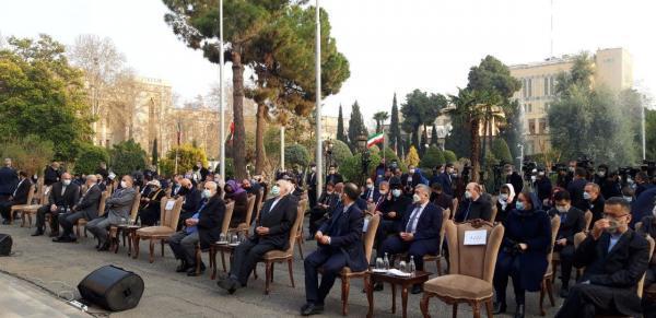 آغاز مراسم نوروز 1400، نوروز دوستی با حضور ظریف و سفرای خارجی