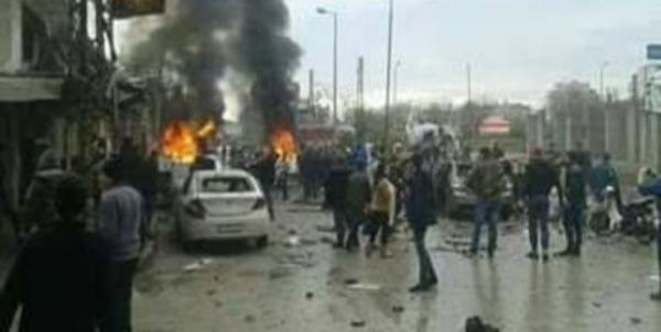 دستکم 8 نفر درانفجار حمص سوریه زخمی شدند